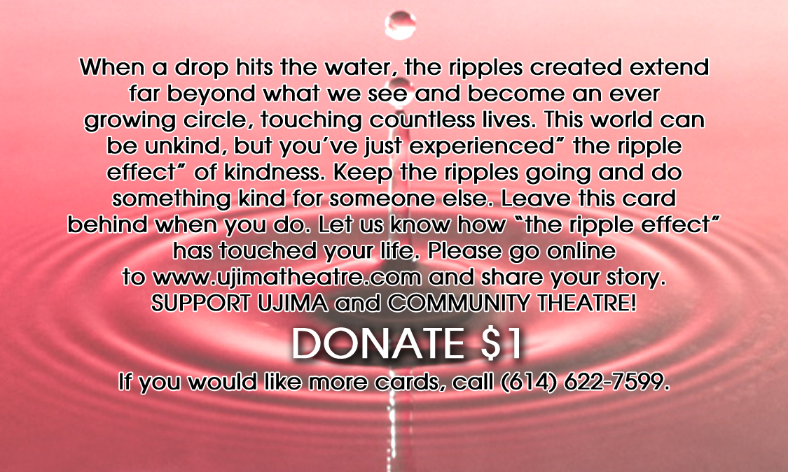Ujima theatre company 39 s ripple effect for Does homesteading still exist